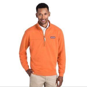 Vineyard vines orange collegiate shep sweater XL
